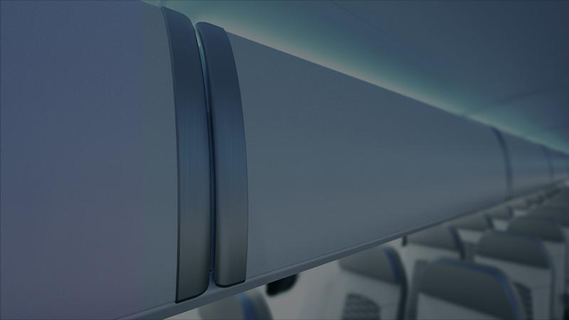 MHIRJ CRJ Series aircraft part with seats