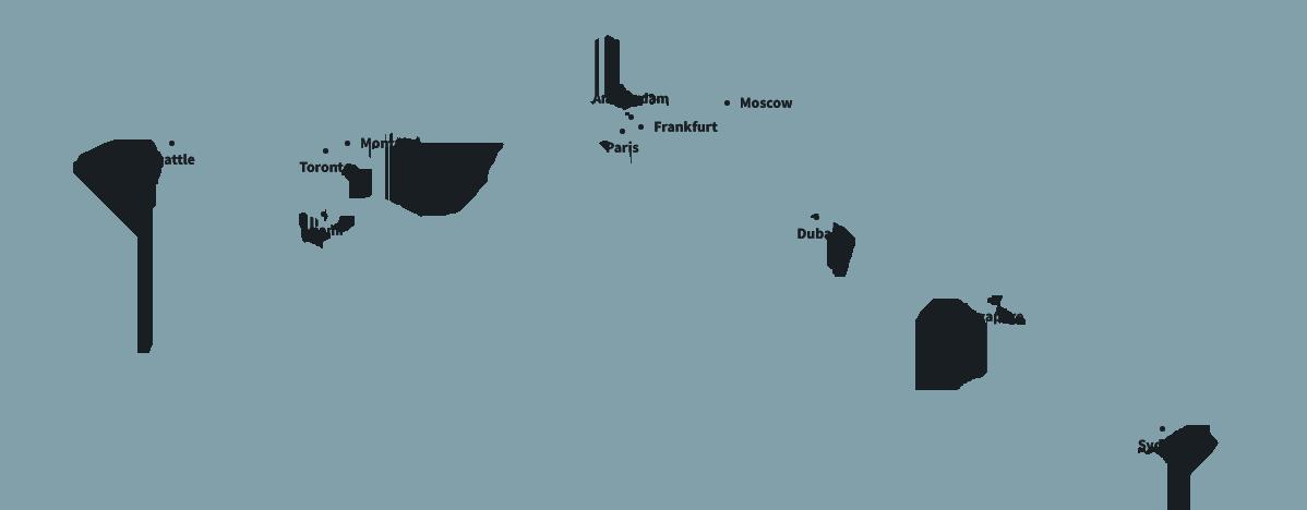 Aero Advisory Services Map
